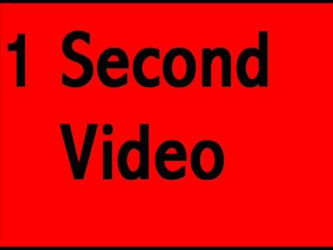 1 Second Video