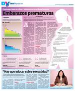 Embarazos prematuros