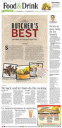 The Desert Sun // Palm Springs Food & Drink section cover