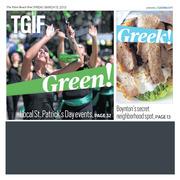 Palm Beach Post TGIF Cover