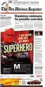 Des Moines superhero