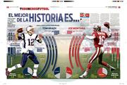 Tom Brady / Joe Montana