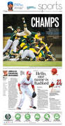Sports Front May 29, 2015