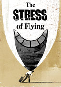 The stress of flying