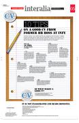 CV Page Design
