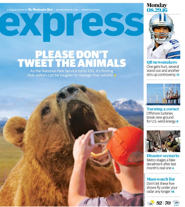 Please don't tweet the animals