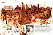Sauce and the City 1st spread