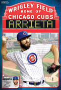 Jake Arrieta Cubs 2015 poster