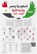 Saudi Arabia and Egypt