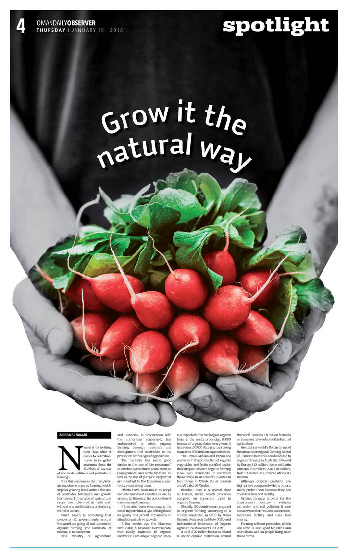 Grow it the natural way
