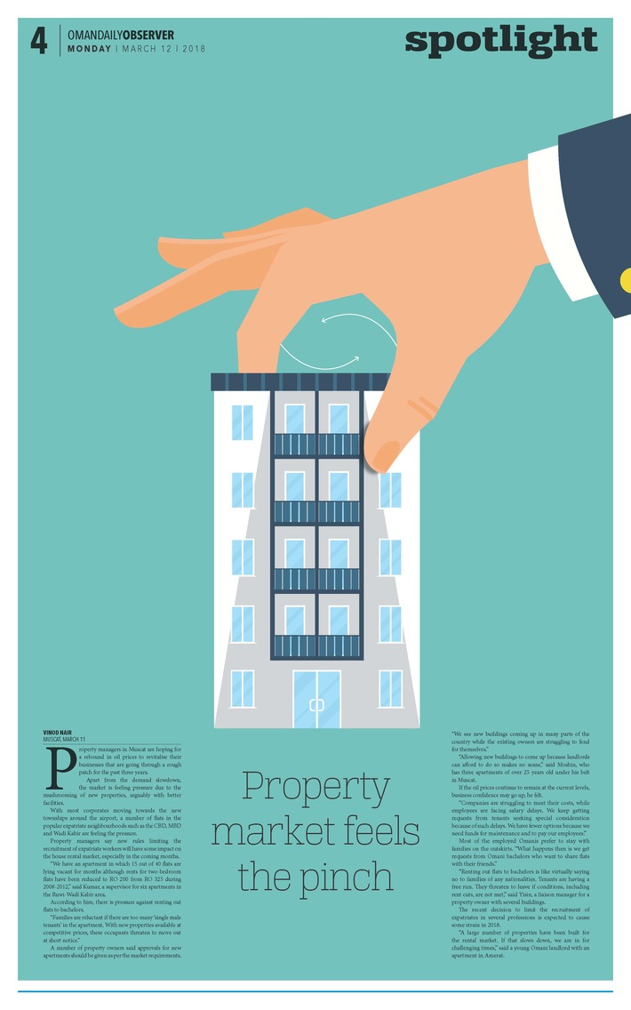 Property market feels the pinch