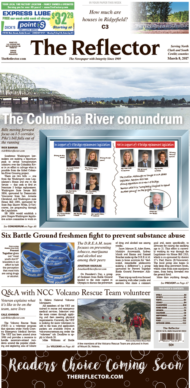 Columbia River Conundrum March 8 2017