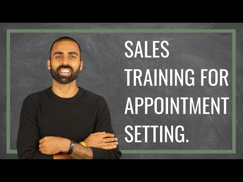 Sales Training for Appointment Setting | Deepak Shukla