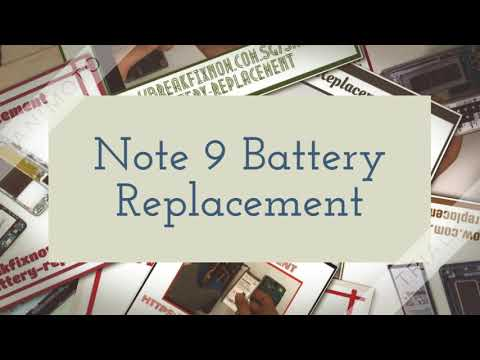 Note 8 Battery Replacement