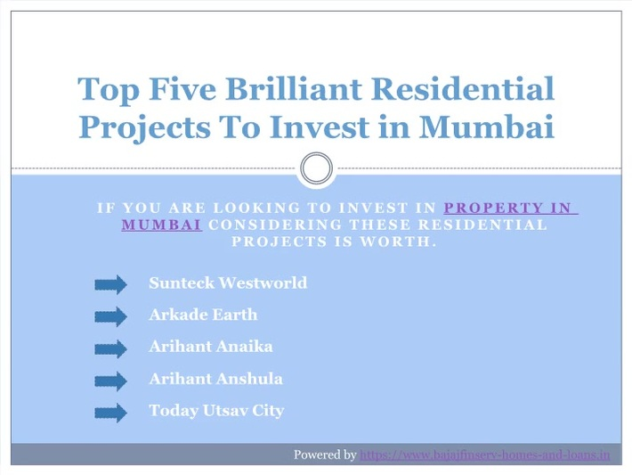 Here's Some Top Brilliant Residential Projects In Mumbai Where You Can Invest In