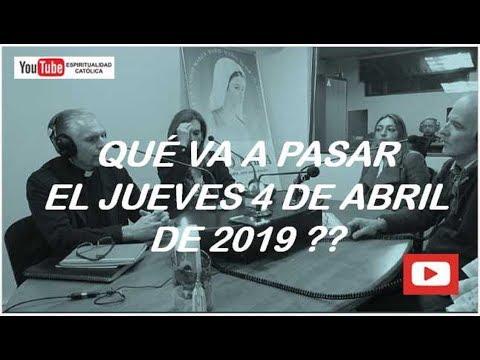 QUÉ VA A PASAR EL JUEVES 4 DE ABRIL DE 2019 ??