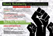 Black Solidarity Day Celebration