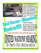 The United Nations will discuss the 117 year USA colonialization of Puerto Rico, June 22