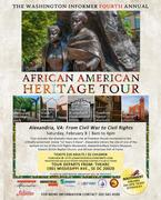 4th Annual Washington Informer African American Heritage Tour, Alexandria, VA; from Civil War to Civil Rights