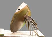 metal art sculpture fish