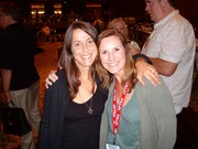 Martha Quinn and Caryn Clark