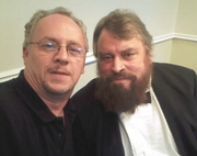 The Great Brian Blessed.......and me!