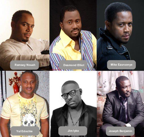 """Handsomest"" Nollywood Actor your vote ! Is it Ramsey or jim iyke Mike ezu... or"