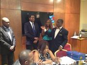 Abi John Balogun Rotary Victoria Island East Induction Eko hotel