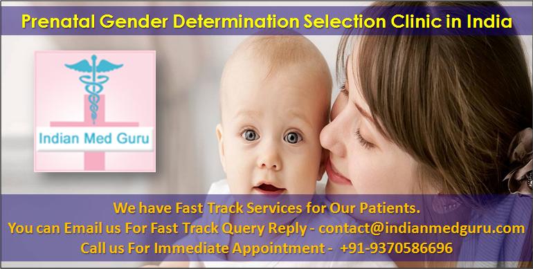 Prenatal Gender Determination Sex Selection India