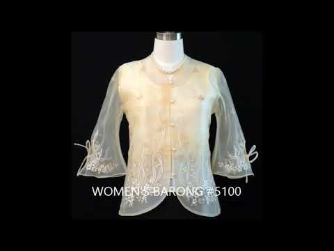 Affordable Ladies and Women's Barong in USA