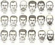Милицейская памятка времен СССР для определения национальности
