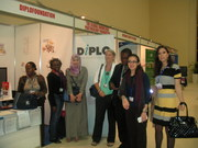 Diplo Members at the booth
