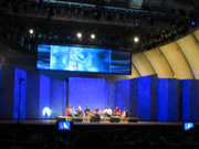 Kalhor at the Hollywood Bowl