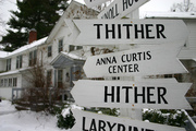 Hither and Thither sign