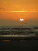 Sunset Off Long Beach