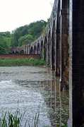 Railway viaduct near to Dale House, Coalbrookdale.