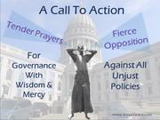 Pray & Oppose