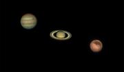 Three Planet Night