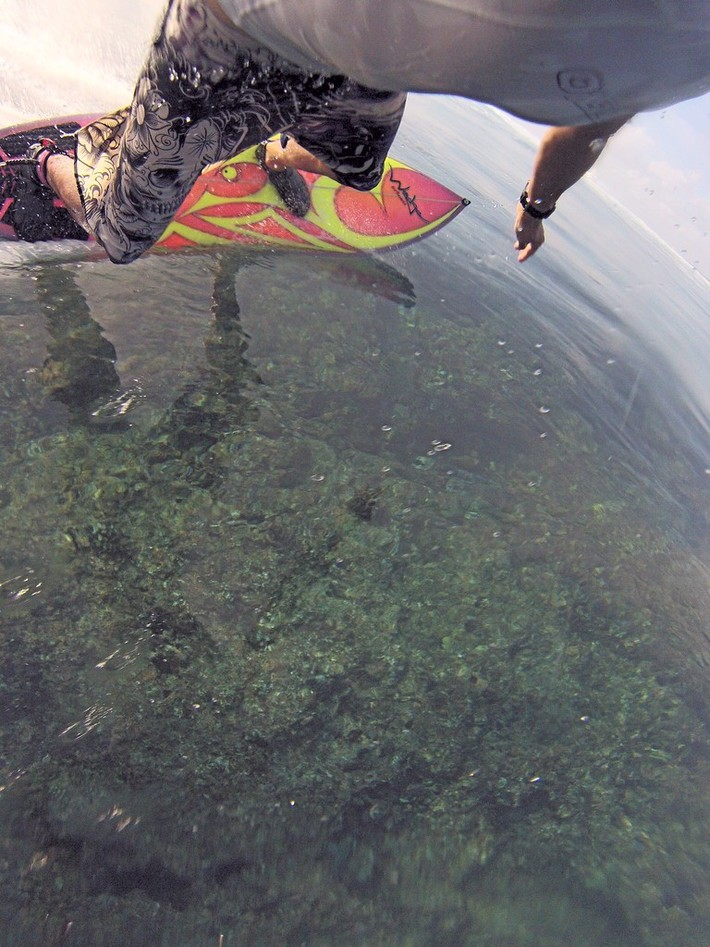 G0231201 Shallow Reef Bottom Turn