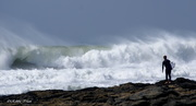 Surf at last! Supertubes over the weekend.
