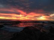 Sunset surf @ Boat Bay