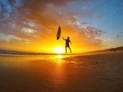 Sunset surf sesh