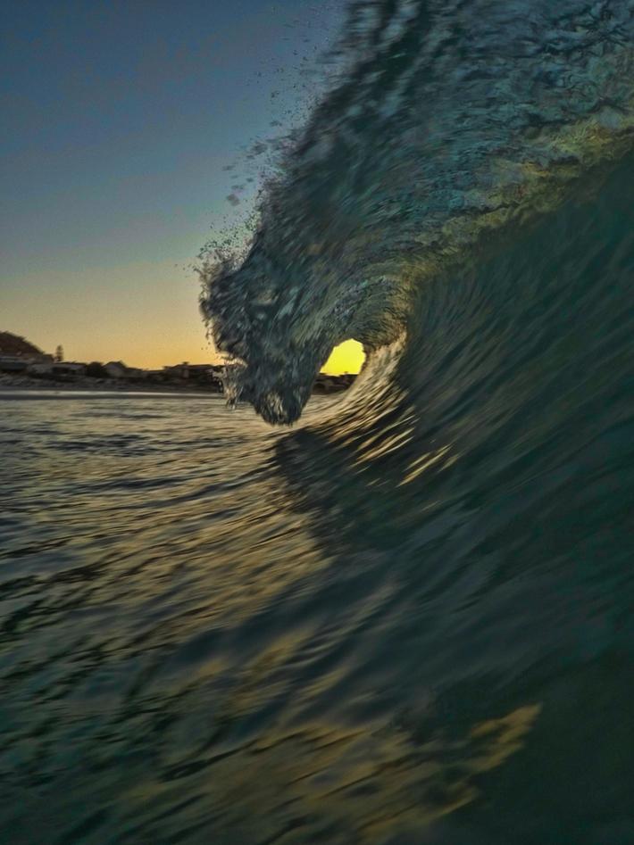 Krans at sunset
