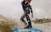 Tail slide in Cornwall