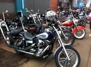 Bikes in the alley
