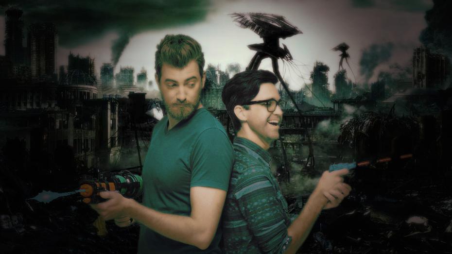 Rhett and Link Alien Apocalypse