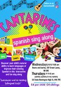 CANTARINES, Spanish sing along for kids 0-5