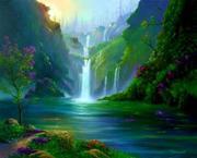 fine mountainfalls