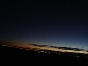 DSC00243 Much duskier, Venus the brighter