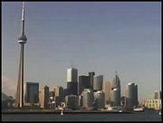 Beautifull Toronto from Hanlans point